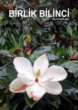 Birlik Bilinci*Dergi-Sayı-6*Yayın Tarihi: 2014